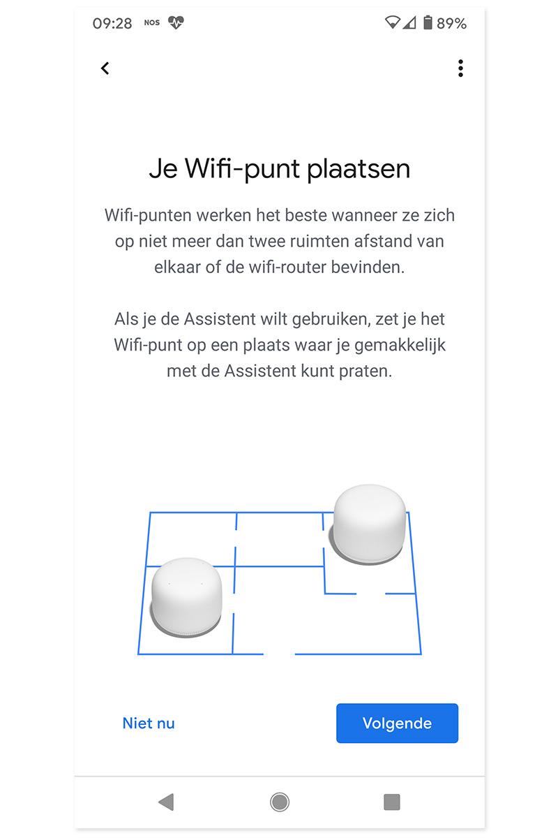 Installatieproces Google Nest Wifi wifi-punt (2)