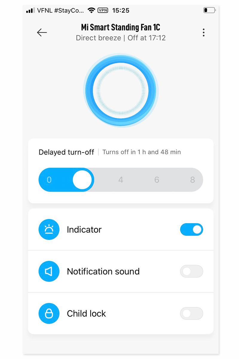 MI smart app