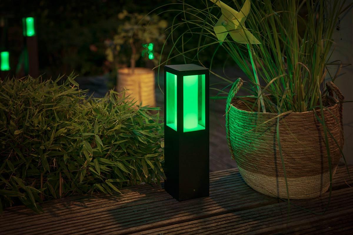 Philips Hue buitenverlichting groen