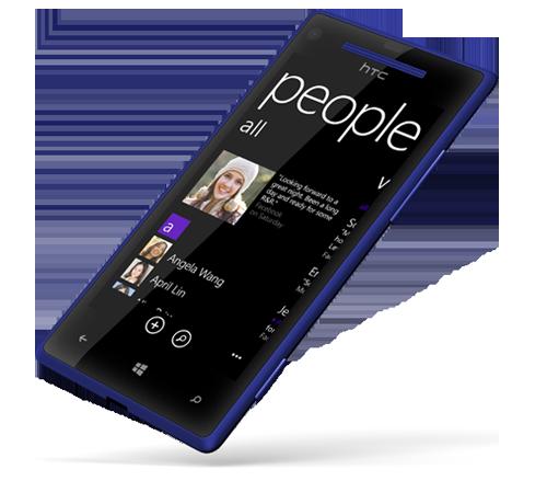 HTC-8X-Voorkant