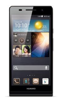 Huawei Ascend P6, zwarte uitvoering