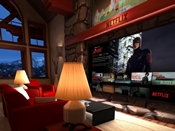 Samsung Gear VR - Netflix app