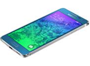 Samsung Galaxy Alpha voor en zijkant_blue