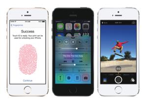Apple iPhone 5S vingerafdrukscanner