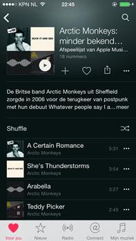 Apple Music - afspeellijst