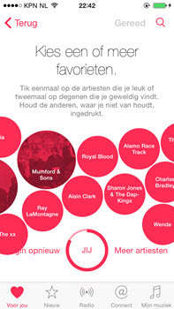 Apple Music - favorieten