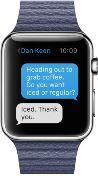 Apple Watch iMessage