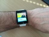 G Watch stappenteller