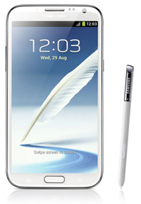 samsung galaxynote2front