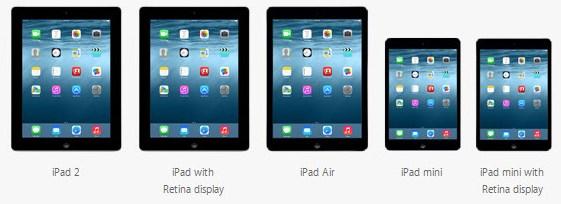 Geschikte apparaten voor iOS 8 2