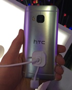 HTC One M9 MWC achterkant