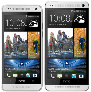 HTC One mini formaat