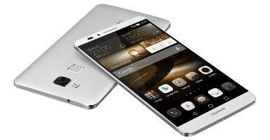 Huawei Ascend Mate 7 liggend