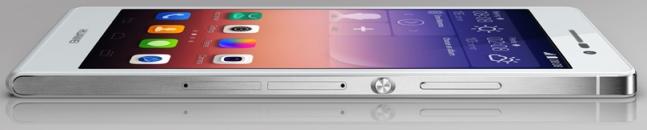 Huawei Ascend P7 ontwerp