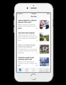 iOS 9 nieuws app