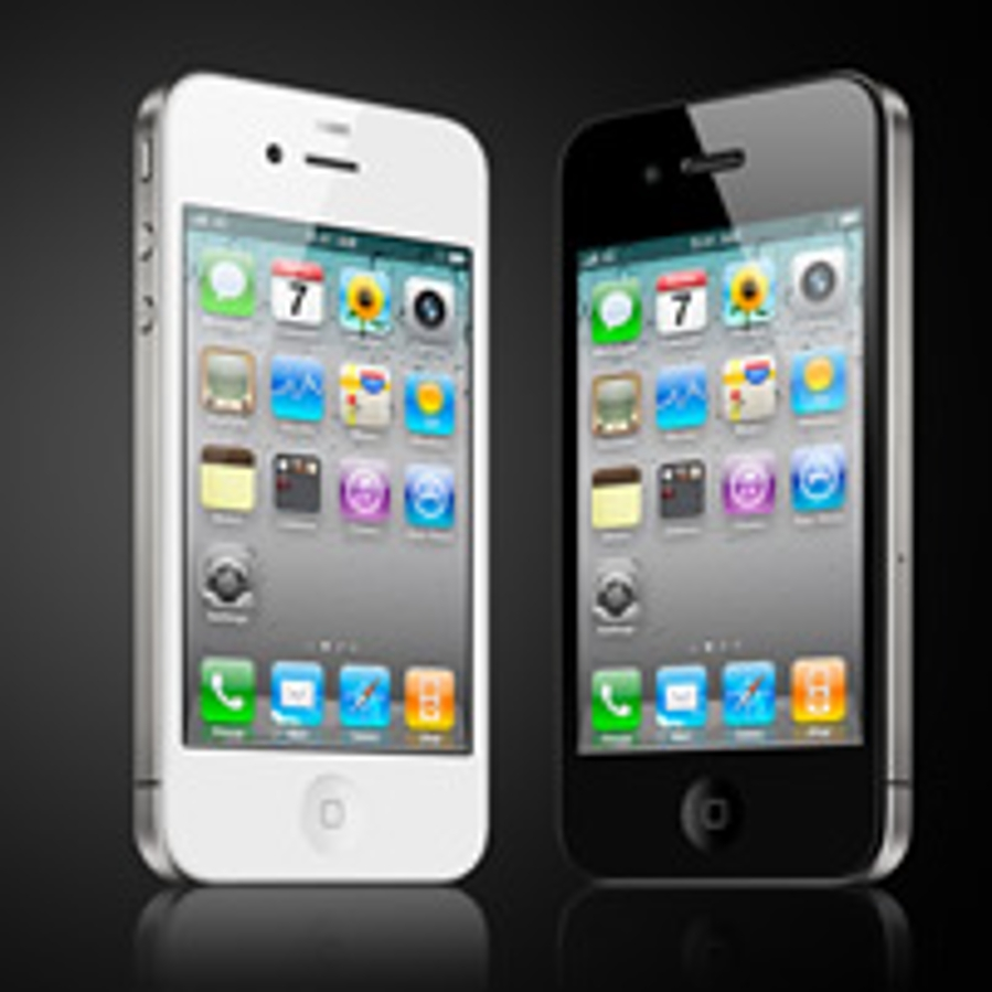iphone 4 zwart en wit