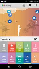 Lifelog app Sony - klein