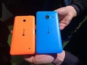 Nokia Lumia 640 en 640 XL achterkant