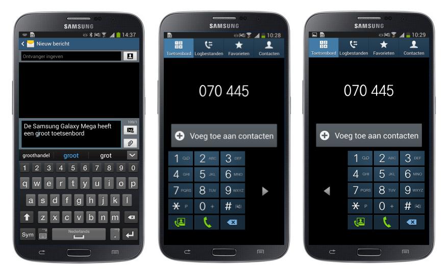 Samsung Galaxy Mega 6.3 toetsenbord