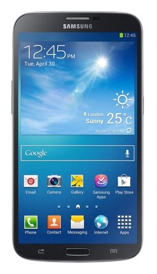 Samsung Galaxy Mega 6.3 voorkant