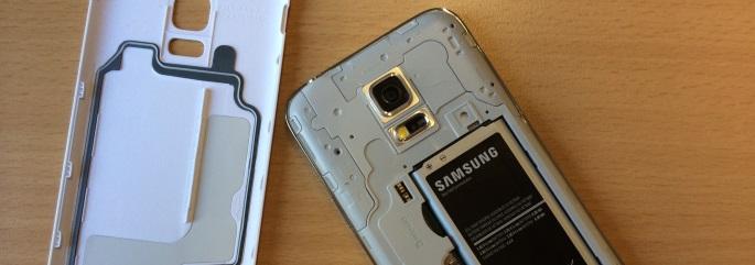 Samsung Galaxy S5 mini binnenkant