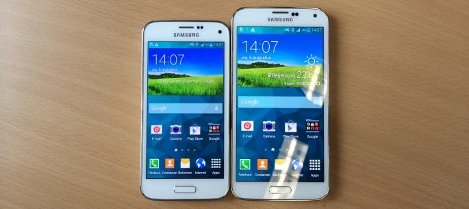 Samsung Galaxy S5 mini en S5