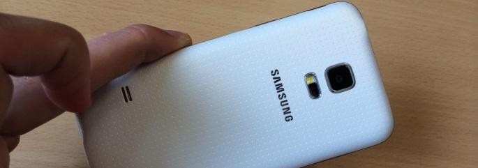 Samsung Galaxy S5 mini ontwerp