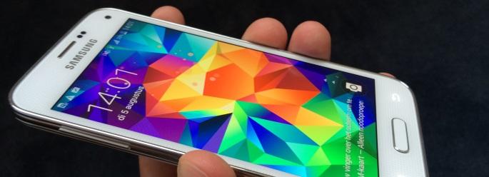Samsung Galaxy S5 mini scherm