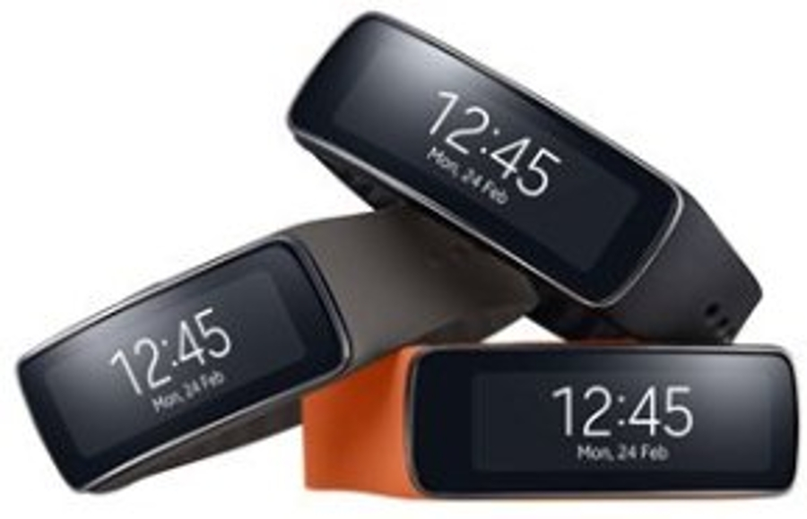 Samsung Gear Fit modellen