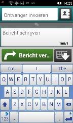 Schermafbeelding toetsenbord