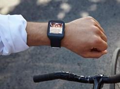 Smartwatch 3 in actie