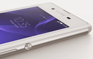 Sony Xperia E3 wit design
