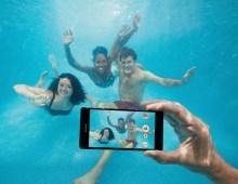 Sony Xperia Z3 onder water