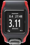 TomTom Multi-Sport Cardio display