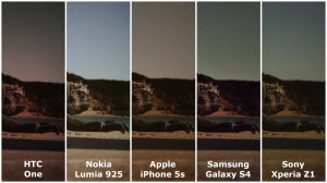 Vergelijking foto's HTC One, Nokia Lumia 925, Apple iPhone 5s, Samsung Galaxy S4 en Sony Xperia Z1