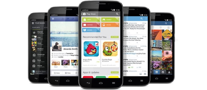 Vodafone Smart 4 power Android