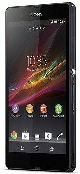 Een voor 4G van Vodafone geschikte telefoon, de Sony Xperia Z