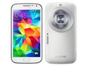 Voor- en achterkant van de Samsung Galaxy K zoom