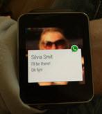 whatsapp op de Gear Live klein