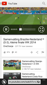 Windows phone 8.1 YouTube