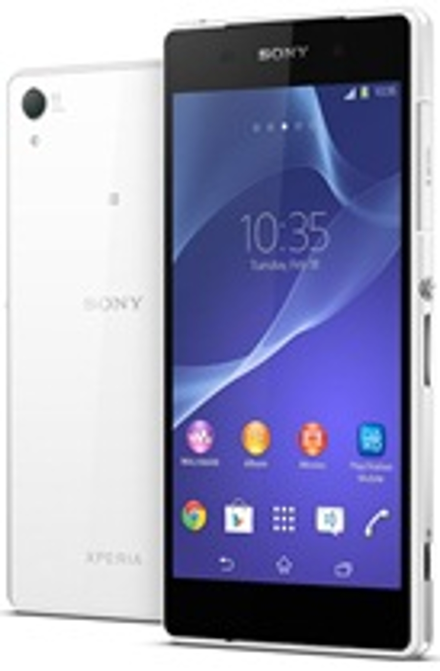 Xperia Z2 ontwerp