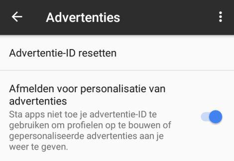 Android-zet-de-reclame-ID-uit
