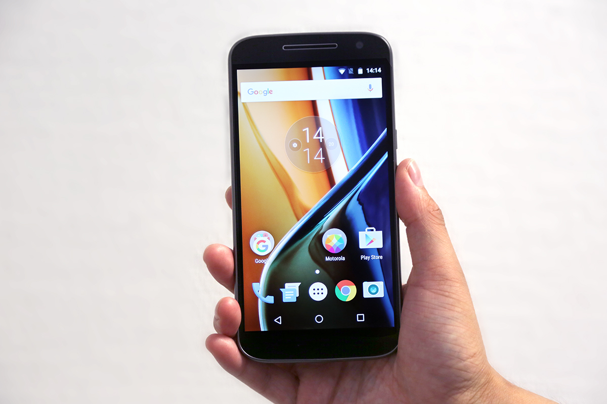CB Moto G4 review
