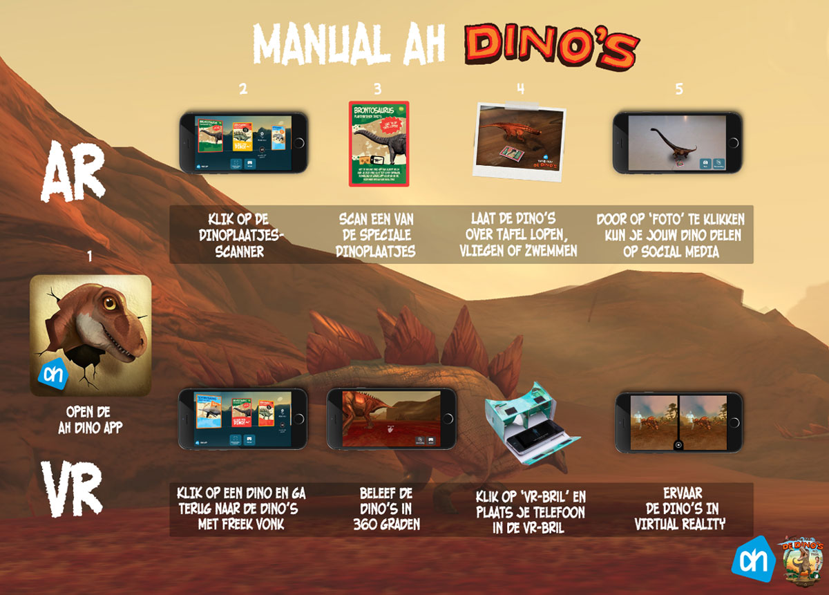 Dino-plaatjes-app-ah-manual