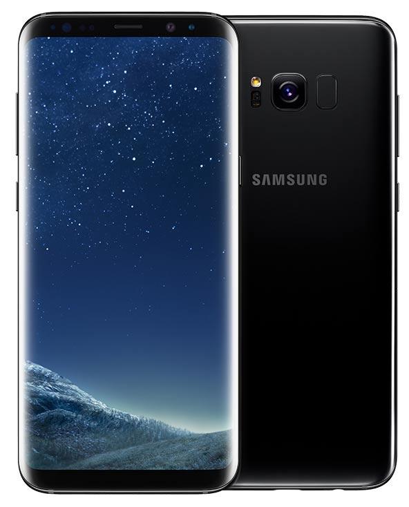 Samsung-Galaxy-S8-SM-950F-zwart-voorkant-achterkant