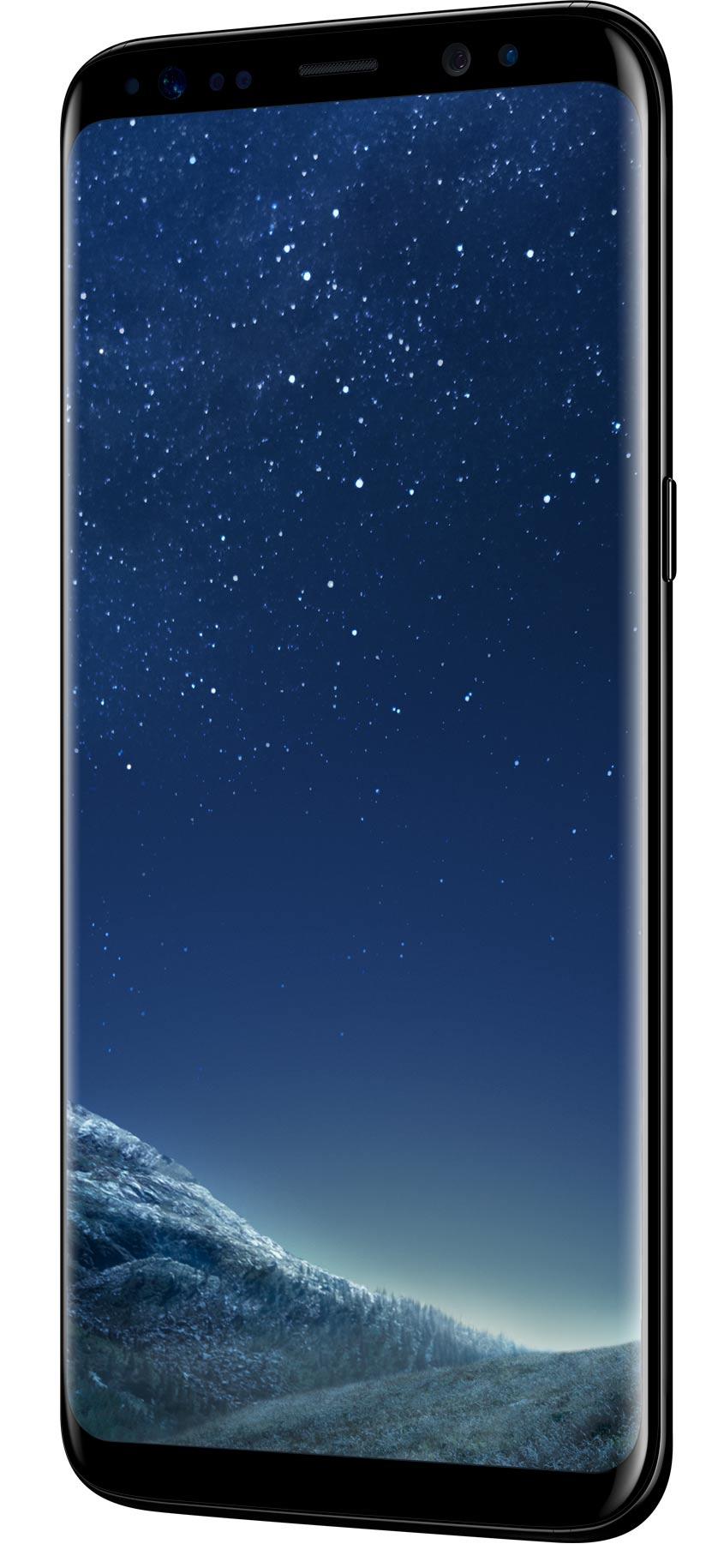 Samsung-Galaxy-S8-SM-950F-zwart-voorkant