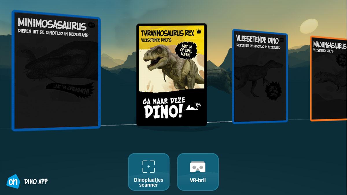 Super Virtual Reality met Albert Heijn dinoplaatjes | Consumentenbond MS-57