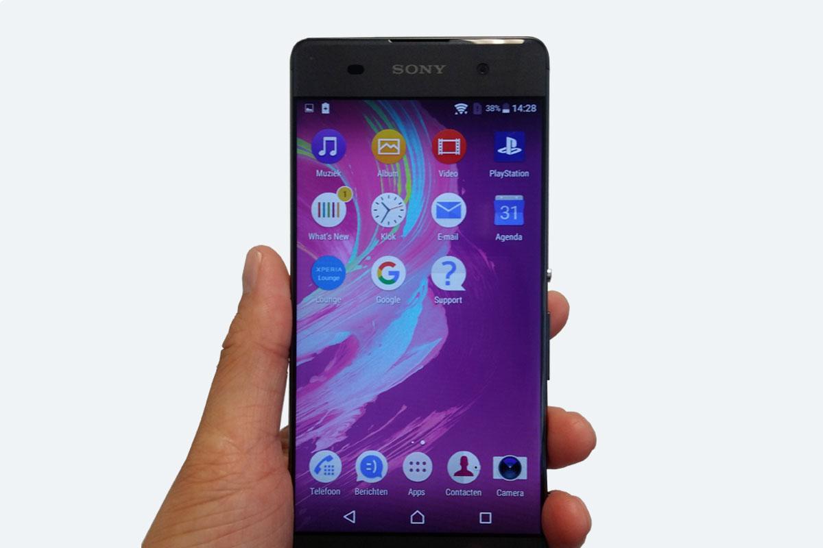 smartphone--sony-Xperia-eerste-indruk