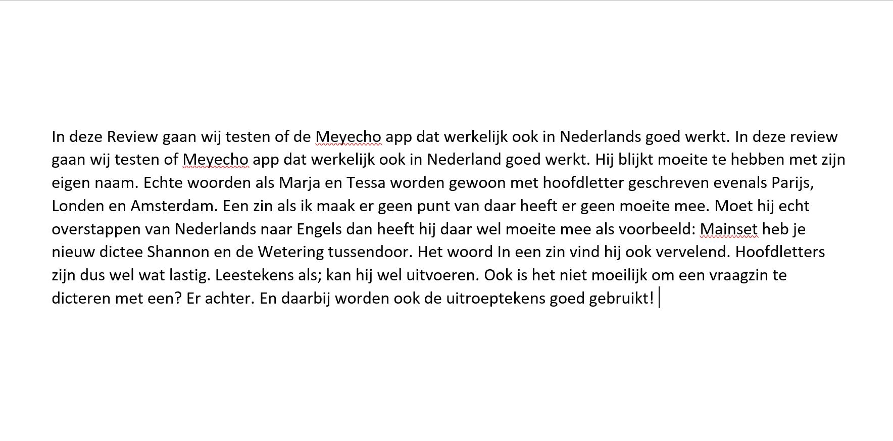 Tekst-MyEcho-app