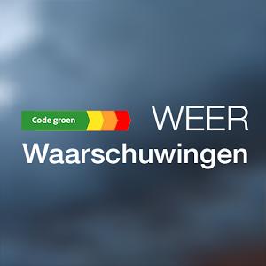 Weerwaarschuwing Nederland